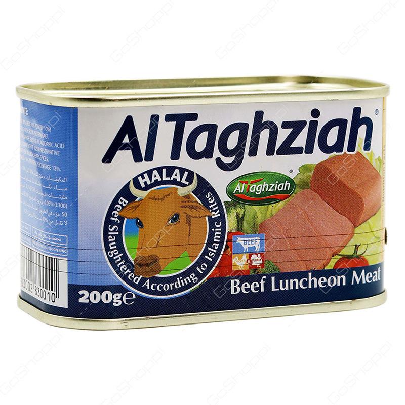 AL TAGHZIAH - Luncheon Beef | Friendly Food Qatar